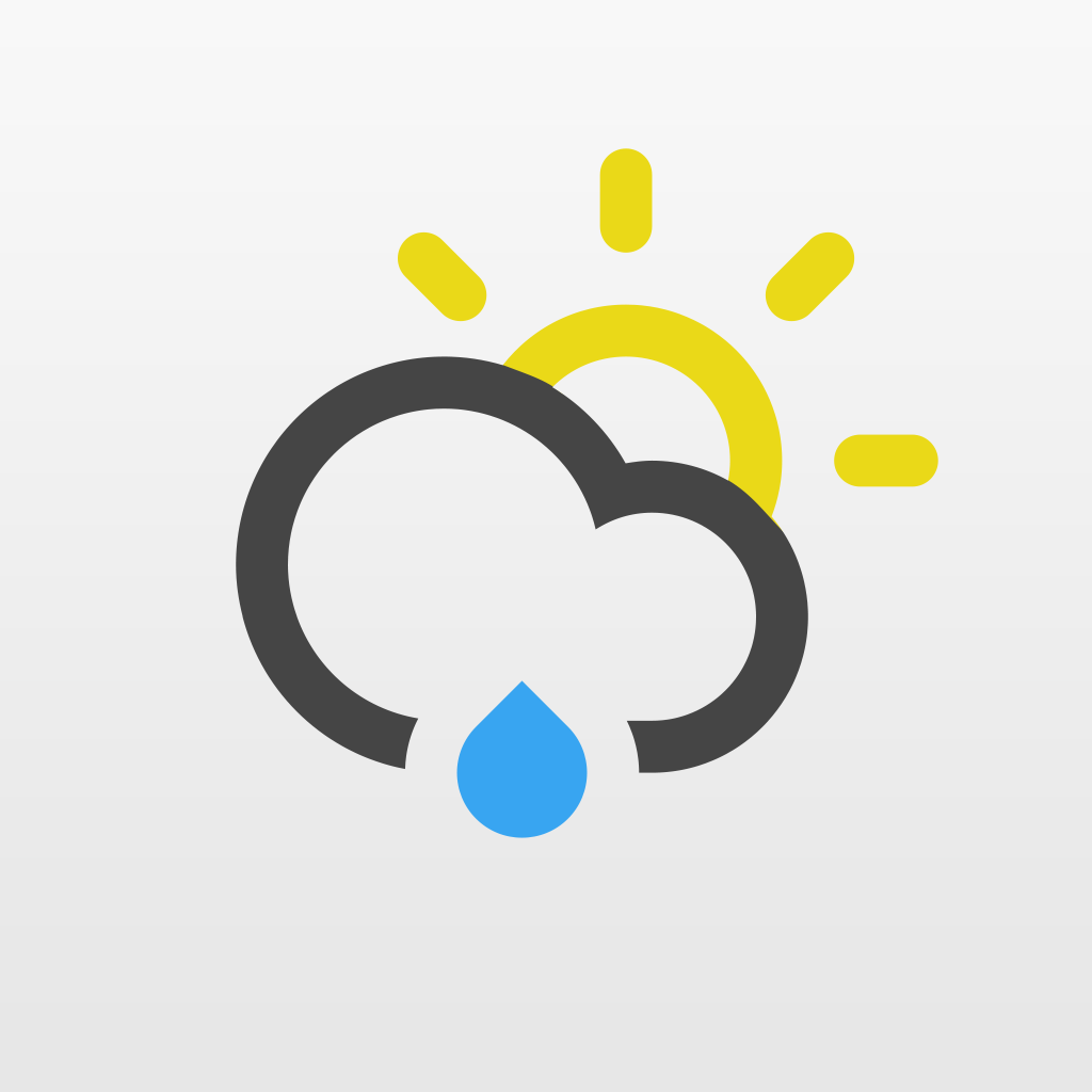 Conditions — Beautiful Weather Info on the Go! by Rubber Duck Software icon